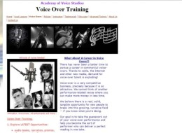Academy of Voice Studios