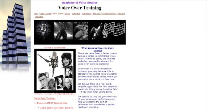 Academy of Voice Studios