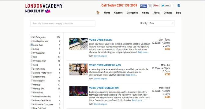 London Academy Media Film TV
